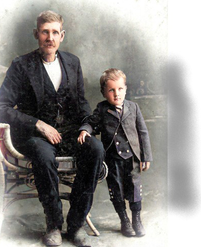 James and son Frank